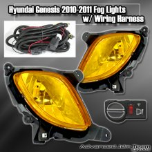 JDM Sport Yellow Foglights 2010 - 2012 Genesis Coupe