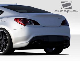 Duraflex RS-1 Rear Add On Bumper Extensions 2010 - 2016 Genesis Coupe