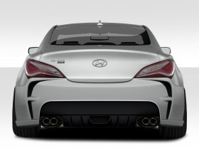 Extreme Dimensions VG-R Rear Bumper Genesis Coupe 2010 - 2016