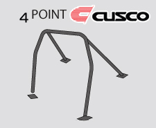 Cusco D1 Blue Chromoly 4 Point Roll Cage Genesis Coupe