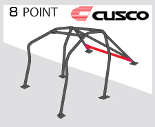 Cusco D1 Blue Chromoly 8 Point Roll Cage Genesis Coupe